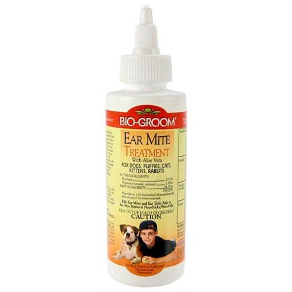 Bio Groom - Ear Mite Treatment With Aloe Vera 118ml