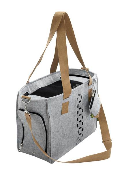 Hunter - Traveling Bag Country With Poop Bag Case Grey 40x19x30cm