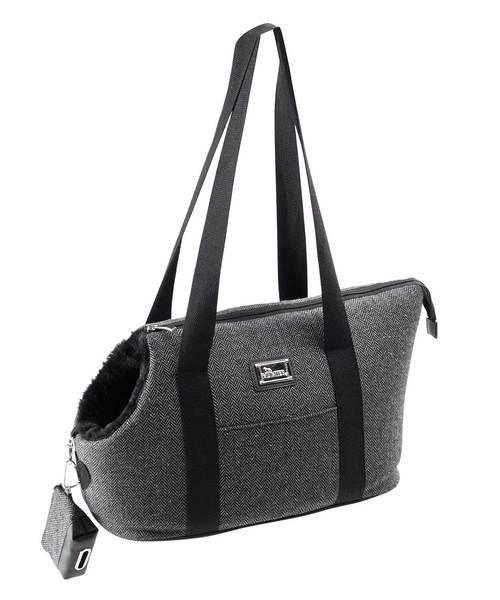 Hunter - Traveling Bag Kapstadt Grey & Poop Case 39x21x26cm