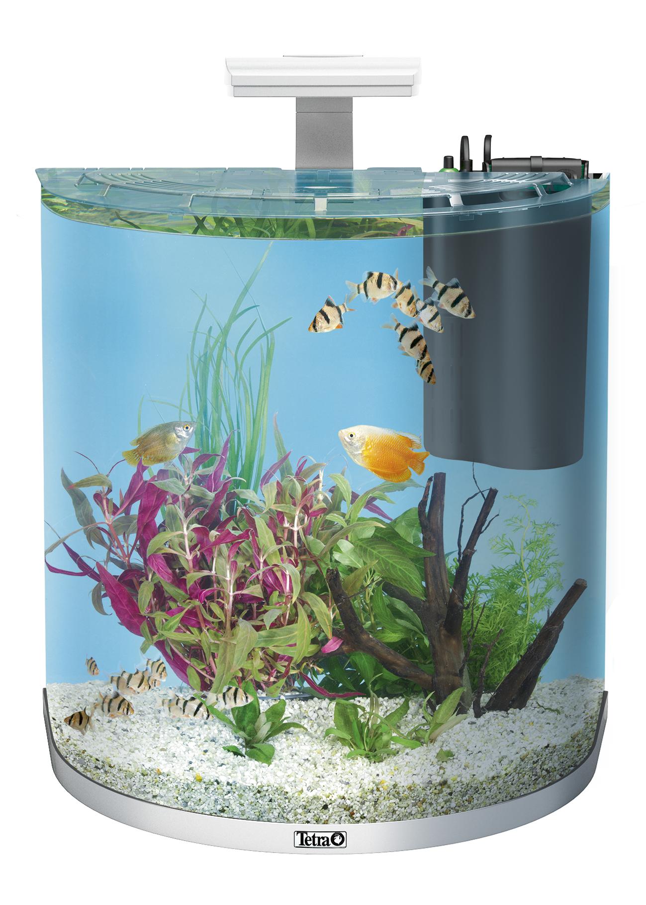 Haustierbedarf Tetra Aquaart Led Aquarium 60l Aquarien